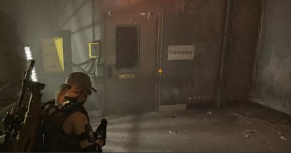 Division2 | DC-62 Lab Quarantine - Side Mission Walkthrough - GameWith