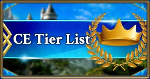 FGO | Craft Essence Tier List | Fate/Grand Order