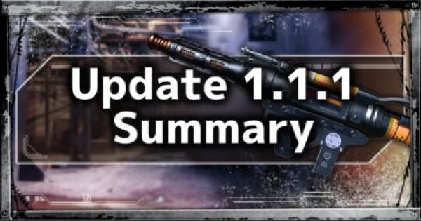 Apr. 16 Update - 1.1.1 Patch Notes Summary - APEX LEGENDS