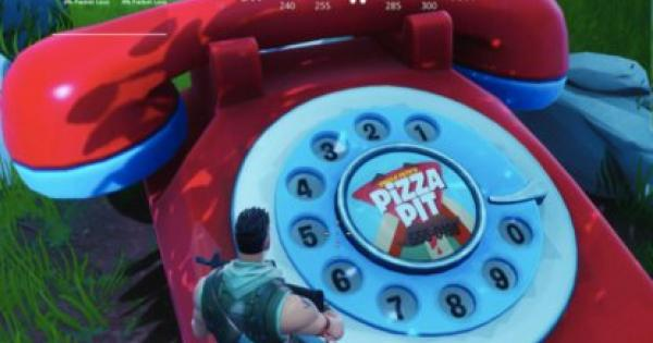 Fortnite | Dial The Pizza Pit Number On The Big Telephone (Week 8) - GameWith