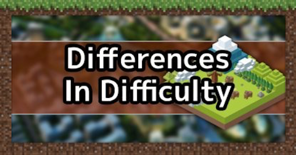 All Difficulty Levels List & Differences | Minecraft Mod Guide - GameWith
