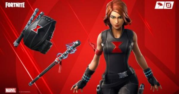 Fortnite | BLACK WIDOW OUTFIT - Marvel Skin Review, Image & Shop Price