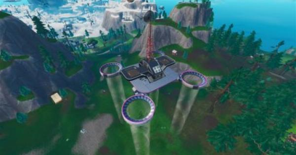 Fortnite   Visit All Sky Platforms - Location Guide (Week 1)