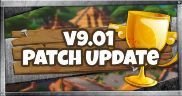 Fortnite | v9.01 Patch Update - May 15, 2019 - GameWith