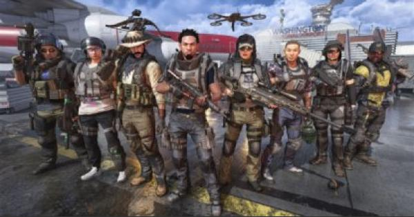 Division2 | Title Update 3: Operation Dark Hours - Update Summary