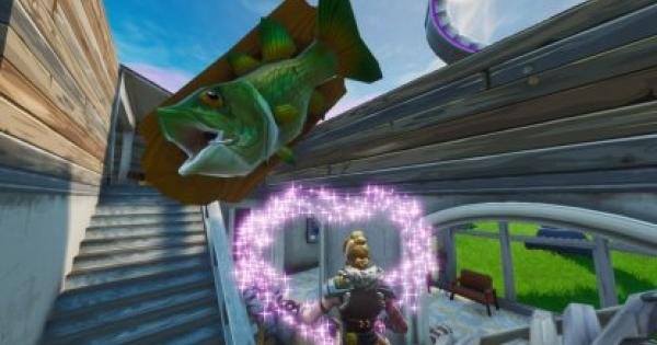 Fortnite | Visit Oversized Phone, Big Piano & Giant Dancing Fish Trophy