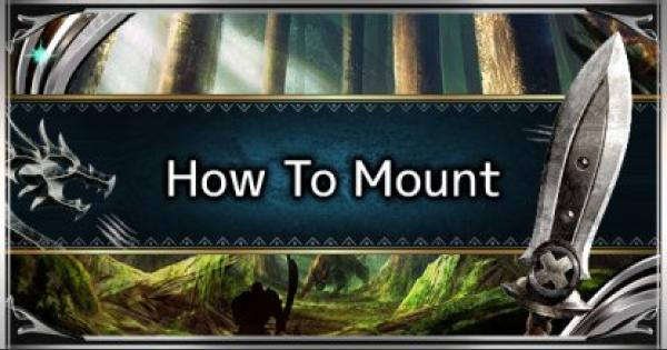 MHW: ICEBORNE | How To Mount A Monster: Mounting Guide & Tips - GameWith