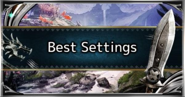 MHW: ICEBORNE | Recommended & Best Options Settings - GameWith
