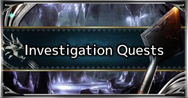 MHW: ICEBORNE | What Is An Investigation Quest - Tips, Guide & Rewards