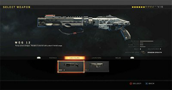 【CoD: BO4】Shotgun - Weapon List & Stats【Call of Duty: Black Ops 4】 - GameWith
