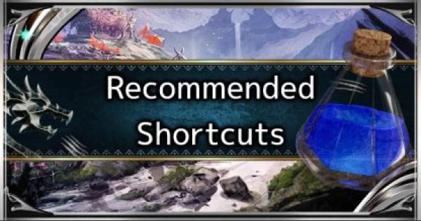 Recommended Radial Menu Setup - Item Bar & Shortcuts - MHW: ICEBORNE