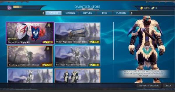 Dauntless | The Dauntless Store - What Can You Buy In The In-Game Store?