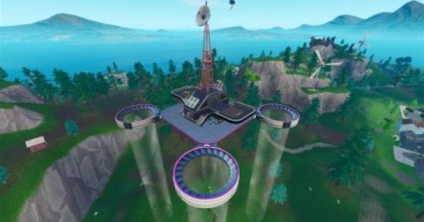 Fortnite | Eliminations At Sky Platforms Challenge (Week 5) - Locations