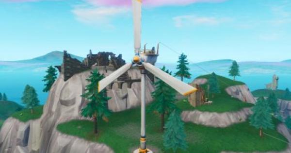 Fortnite | Visit Wind Turbines (Week 5) - Locations