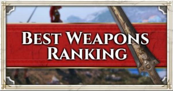 Best Weapon Ranking - Assassin's Creed Odyssey