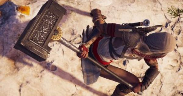 Assassin's Creed Odyssey | Hammer of Jason - How to Get & Weapon Stats