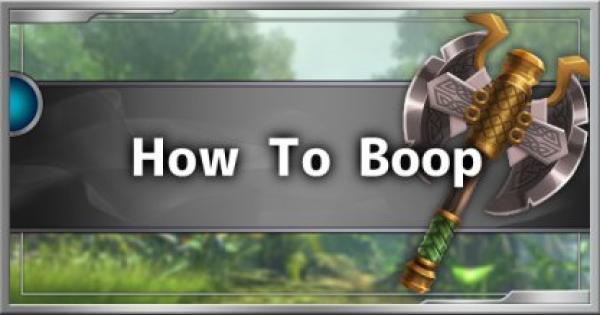 Dauntless | How To Boop - Behemoth Interruption List & Guide