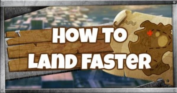 Fortnite | How To Land Faster