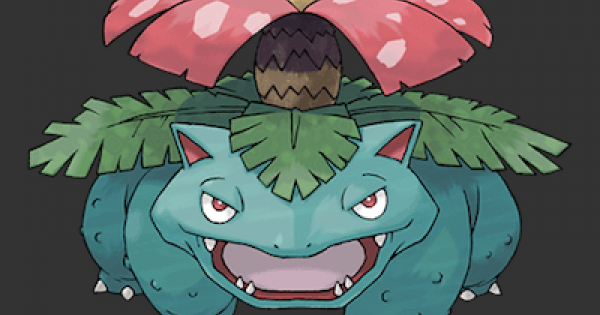 Pokemon Let's Go | Venusaur - Stats, Moves, Evolution & Locations - GameWith