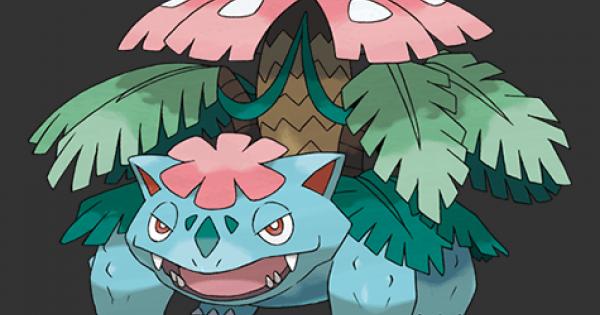 Pokemon Let's Go | Mega Venusaur - Stats, Moves, Evolution & Locations | Pikachu / Eevee - GameWith