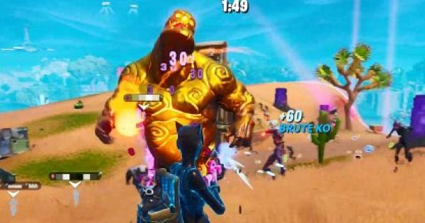 Fortnite | Eliminate Gold Brutes - Horde Rush - GameWith