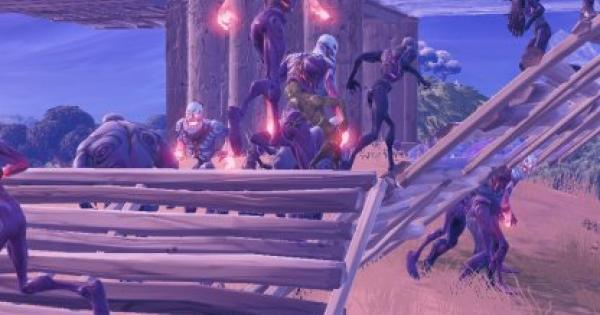 Fortnite | Eliminate Poison Fiends or Exploding Brutes from a Distance - Horde Rush - GameWith