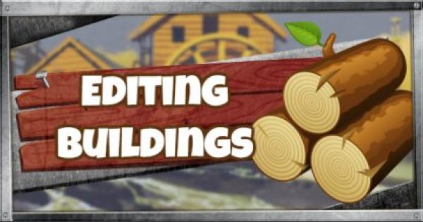Fortnite | Editing Guide - Editing Buildings