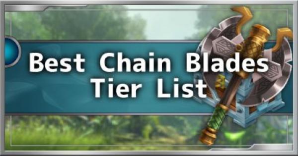 Dauntless | Top 5 Best Chain Blades Tier List - GameWith