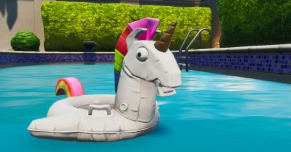 Fortnite | Unicorn Floaties Locations - 14 Days of Summer - GameWith