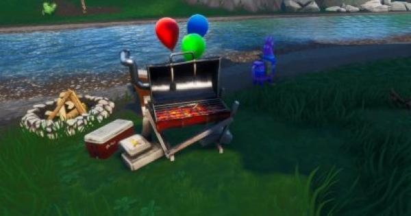 Fortnite | Destroy Grills Locations - 14 Days of Summer - GameWith