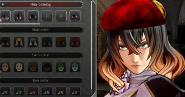 Bloodstained | How To Change Character Appearance - Customize Hairstyle & Armor  | Ritual of the Night