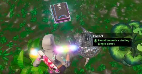 Fortnite | Fortbyte 11 Location - Circling Jungle Parrot - GameWith