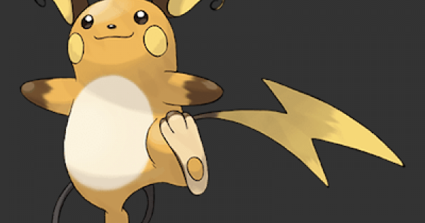 Pokemon Let's Go | Raichu - Stats, Moves, Evolution & Locations | Pikachu / Eevee - GameWith