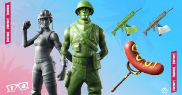 Fortnite | TOY TROOPER Skin - Set & Styles - GameWith