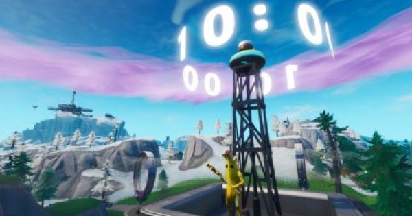 Fortnite | Different Clocks Locations - Week 8 Challenge