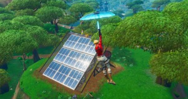 Fortnite | Solar Array Locations - Week 9 Challenges - GameWith