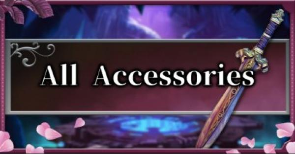 Bloodstained | All Accessories List - Effects & Crafting Guide | Ritual of the Night - GameWith