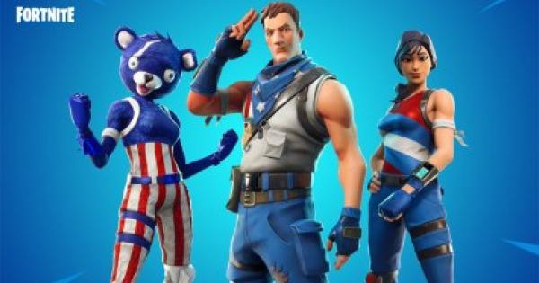 Fortnite | STAR-SPANGLED TROOPER Skin - GameWith