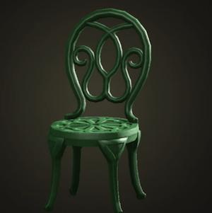 Natural garden chair