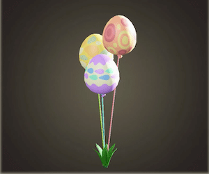 Bunny Day festive balloons
