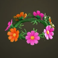 Lovely cosmos crown