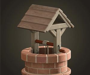 Brick well