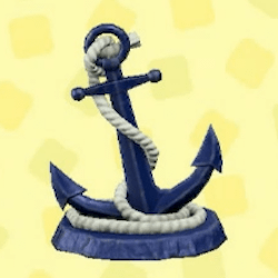 Anchor statue