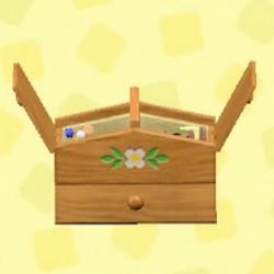 Sturdy sewing box