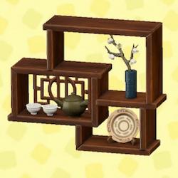 Imperial decorative shelves