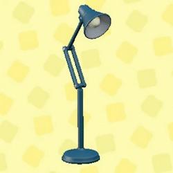 Folding floor lamp