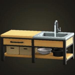 Ironwood kitchenette