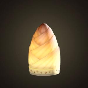 Lampe à pousses de bambou