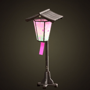 Blossom-viewing lantern