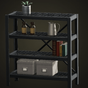 Iron shelf